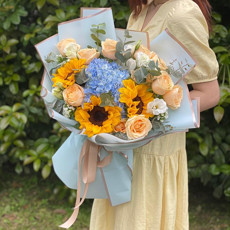 花材色彩如何搭配?花店如何减少花材的浪费?